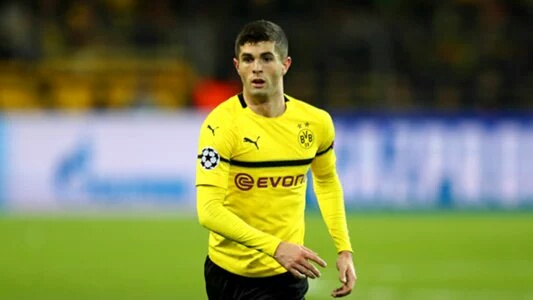 Pulisic Joins Chelsea In £57.6m Move From Borussia Dortmund