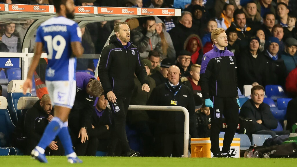Etebo To Work Under New Coach At Stoke , As Rowett Faces Sack Threat