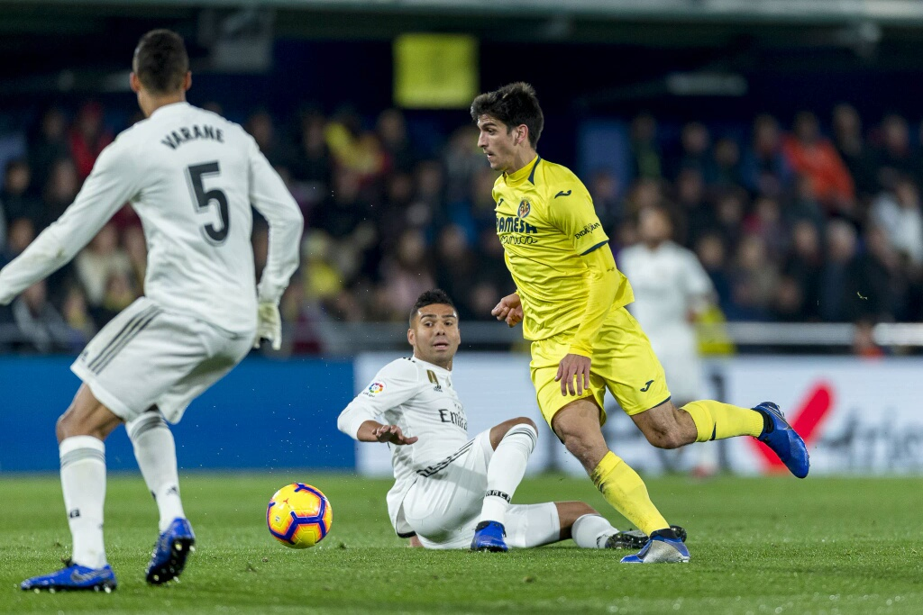 Chukwueze Bags Assist In Villarreal's Home Draw Vs Real Madrid