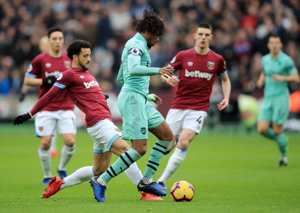 Iwobi In Full Action As Poor Arsenal Lose At West Ham