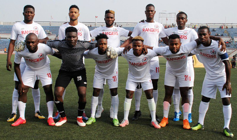 CAFCC: Rangers Go Down 2-1 Against Pelican In Libreville