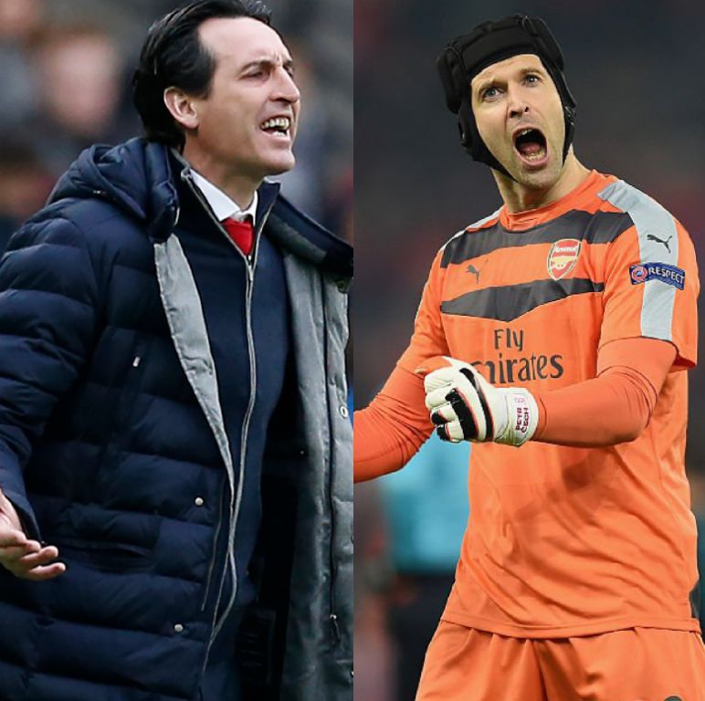 Emery Wants 'Good Moment' With Retiring Cech, Plots Arsenal Win Vs 'Very Organised Chelsea'