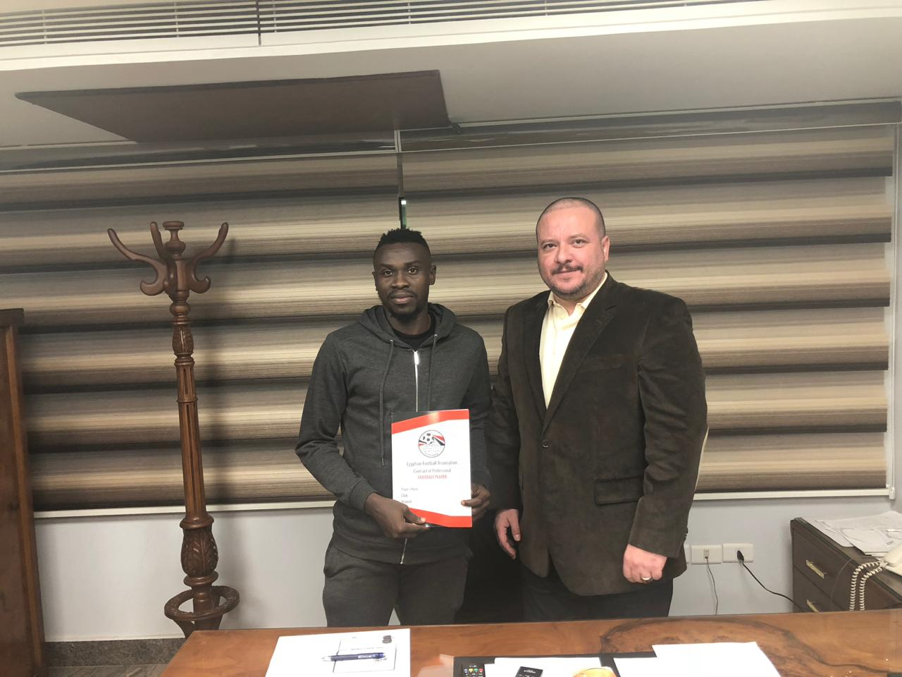 Bassey Joins Al Masry On Three-And Half Year Deal From Akwa United