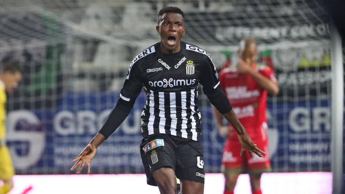 Osimhen Set To Join Lille From Sporting Charleroi