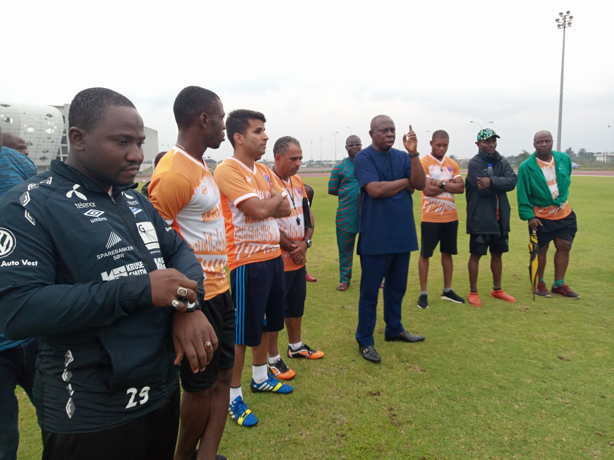 Akwa United Chairman Bassey Warns Coaches, Players To Shape Up Or Ship Out
