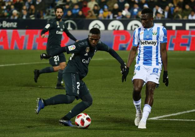 Omeruo Shines As Leganes Beat Real Madrid 1-0