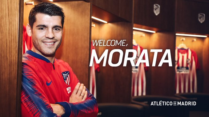Morata Joins Atletico Madrid On 18-Month Loan Deal