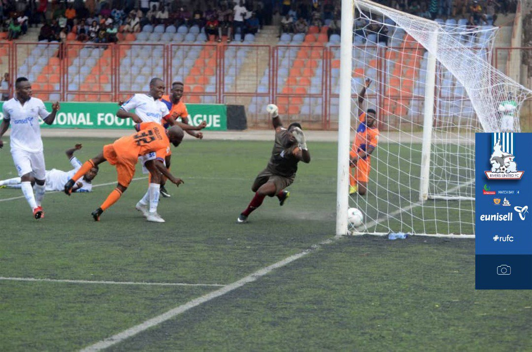 NPFL Roundup: MFM Beat Rangers To Go Top Of Group A; Akwa, Enyimba, Rivers United Draw