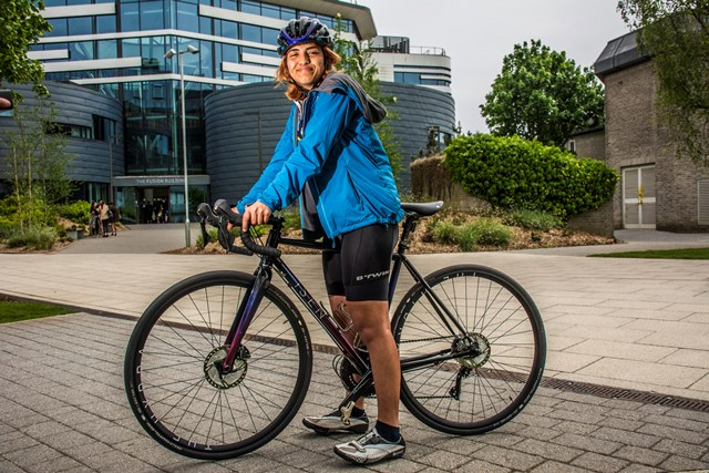 BU student Becomes Youngest Female To Cycle The Globe