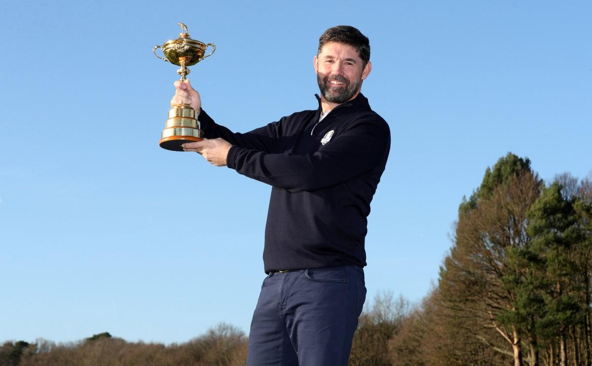 Captain Harrington Ready For Ryder Cup Challenge