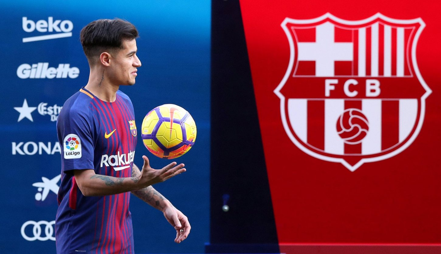 Coutinho On Red Devils Radar