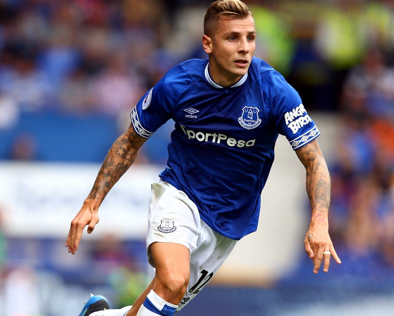 Digne Ready For Lions Den Test