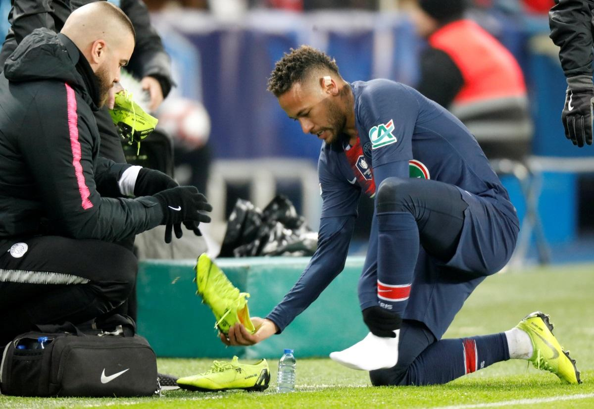Neymar Fresh Injury Blow For PSG