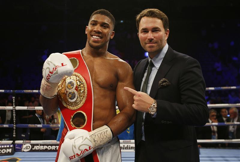 Fury Promoter Warren Hits Out Over Joshua Silence