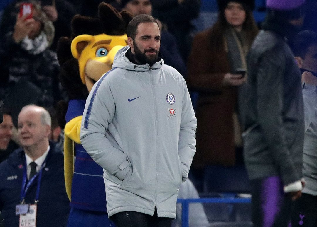 Higuain poised for Chelsea bow