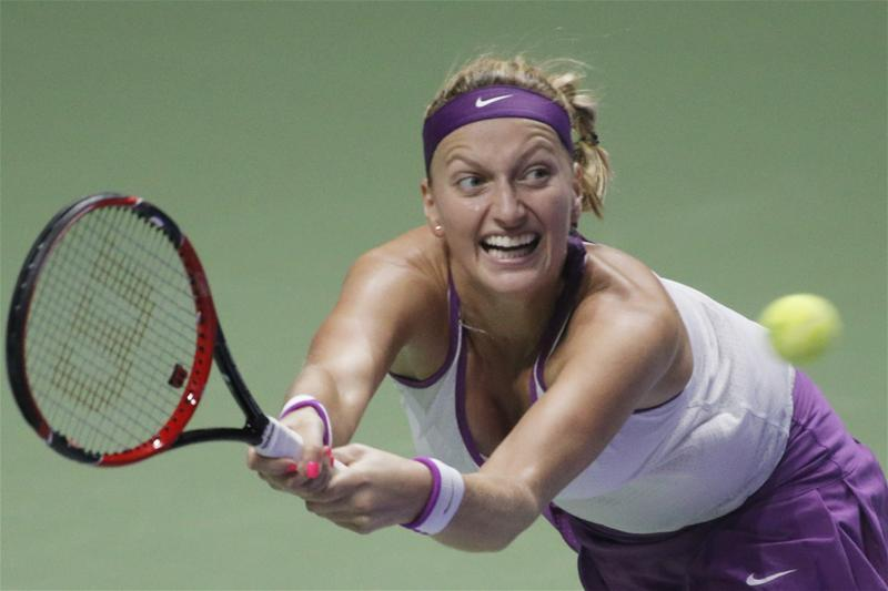 Kvitova Sees Off Azarenka In Russia
