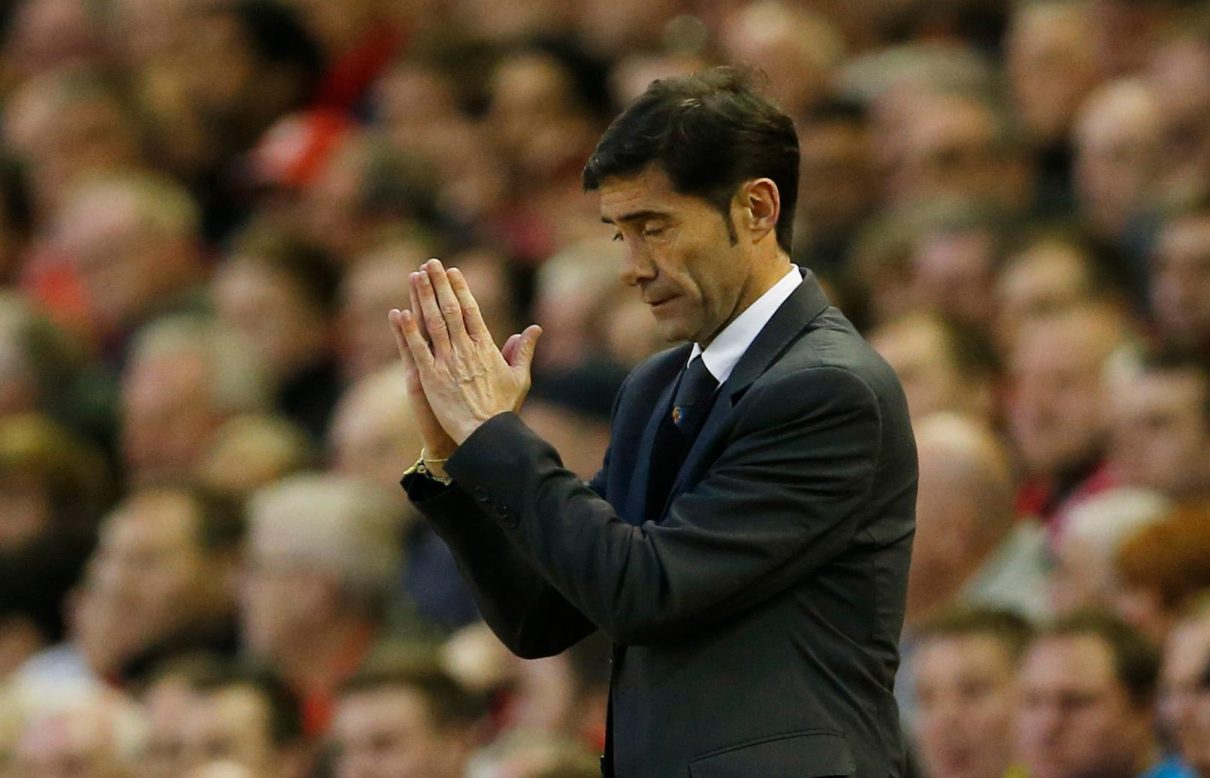 Marcelino Plays Down Sack Threat