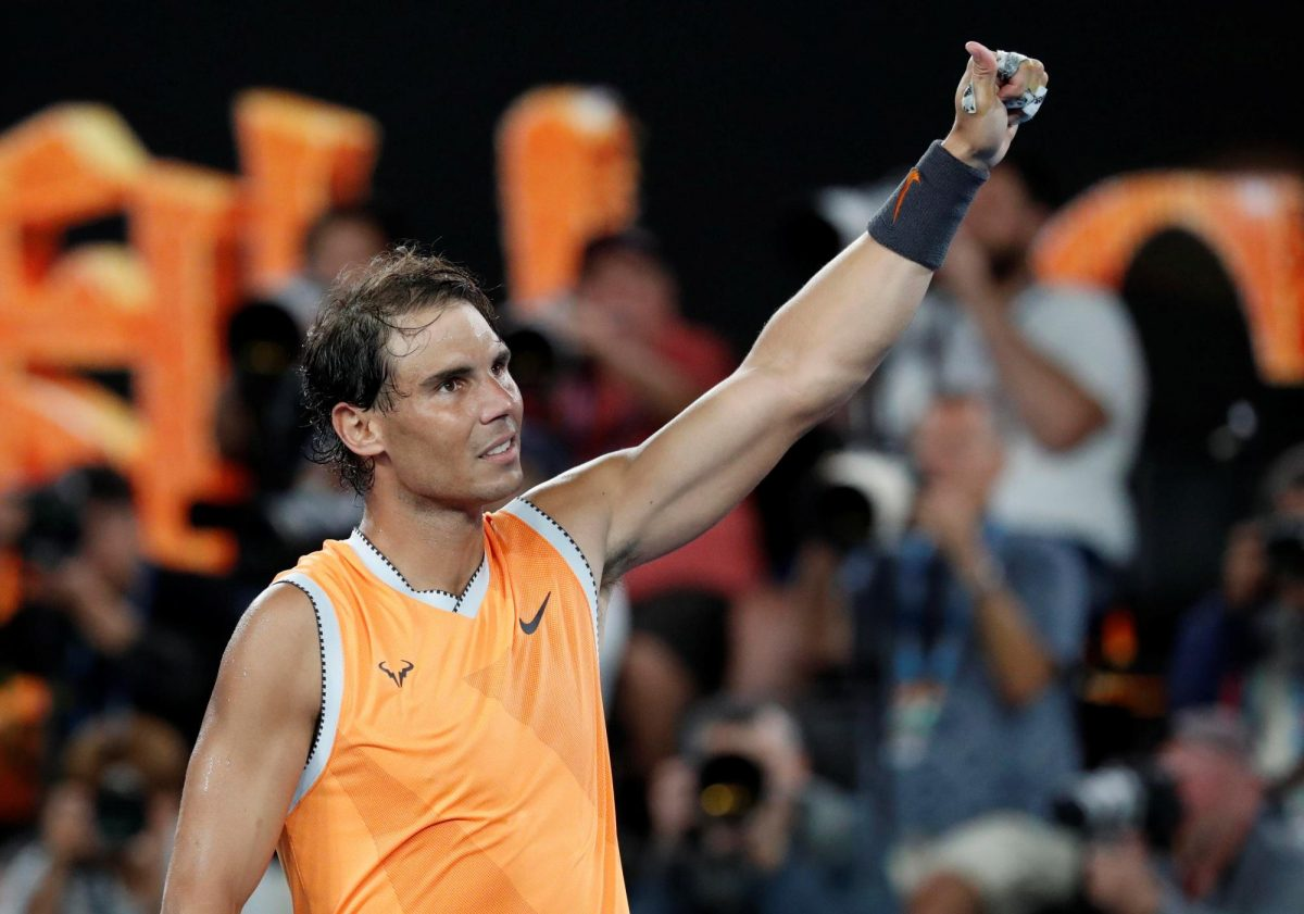 Nadal Marches On In Melbourne