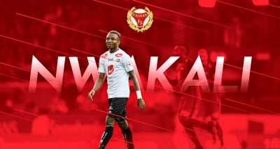 Nwakali Signs 4-Year Deal With Swedish Club Kalmar