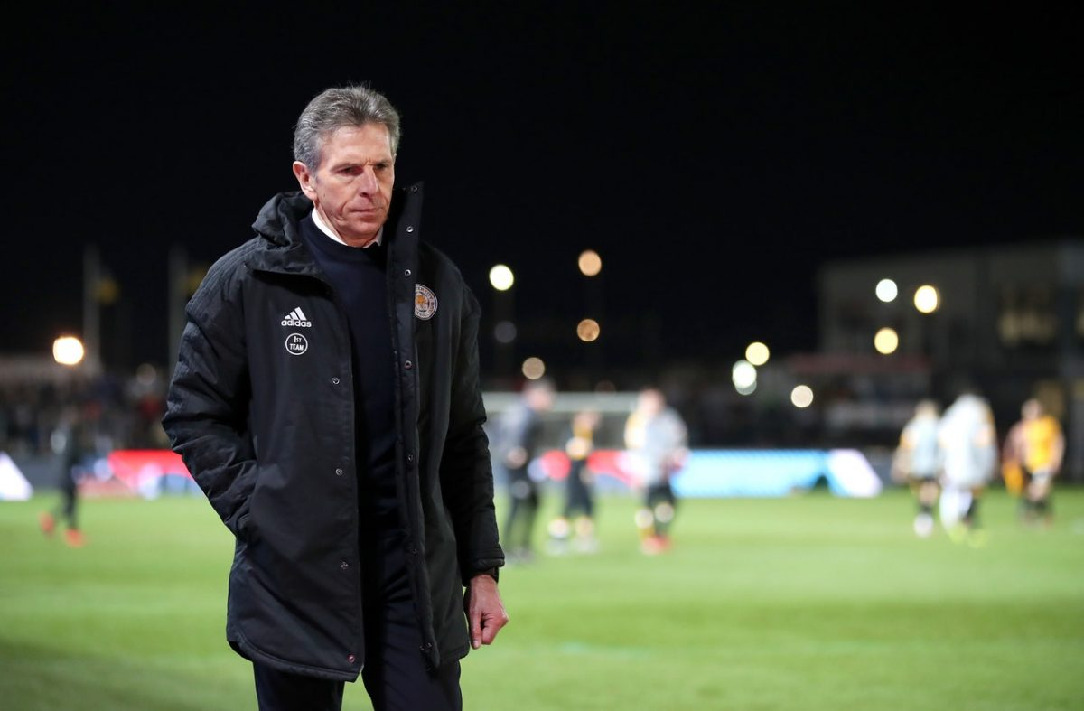 Puel Defends Cup Selection