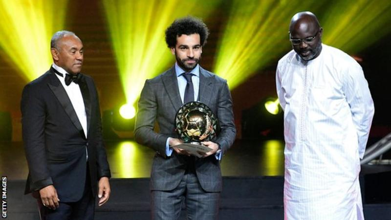 Salah Wins CAF African Player of the Year Award Again; Ndidi, Oshoala, Ordega, Dennerby Miss Out