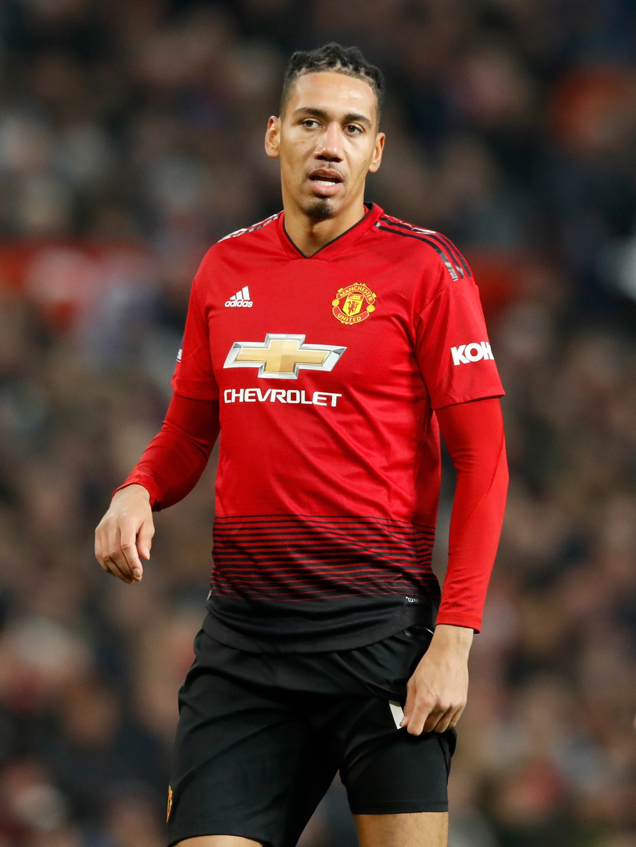Smalling Back For Clarets Test