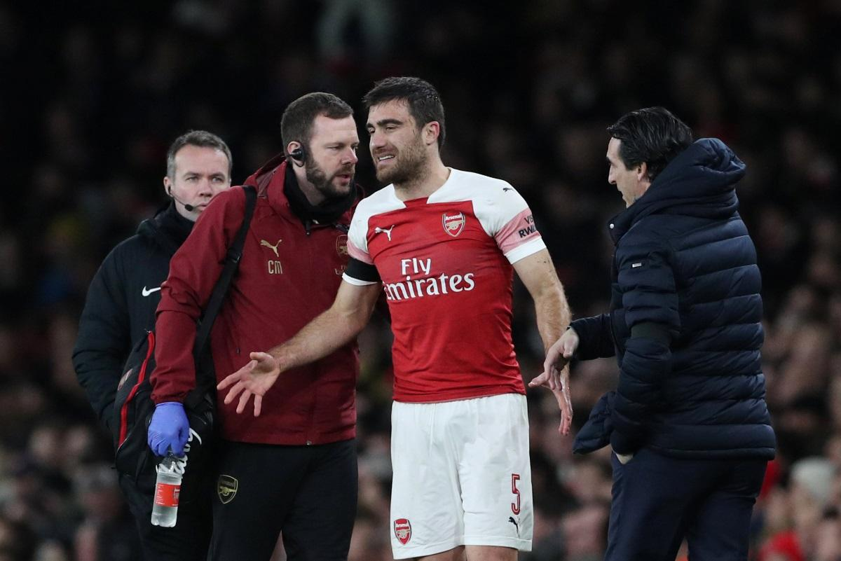 Sokratis Injury Woe For Gunners