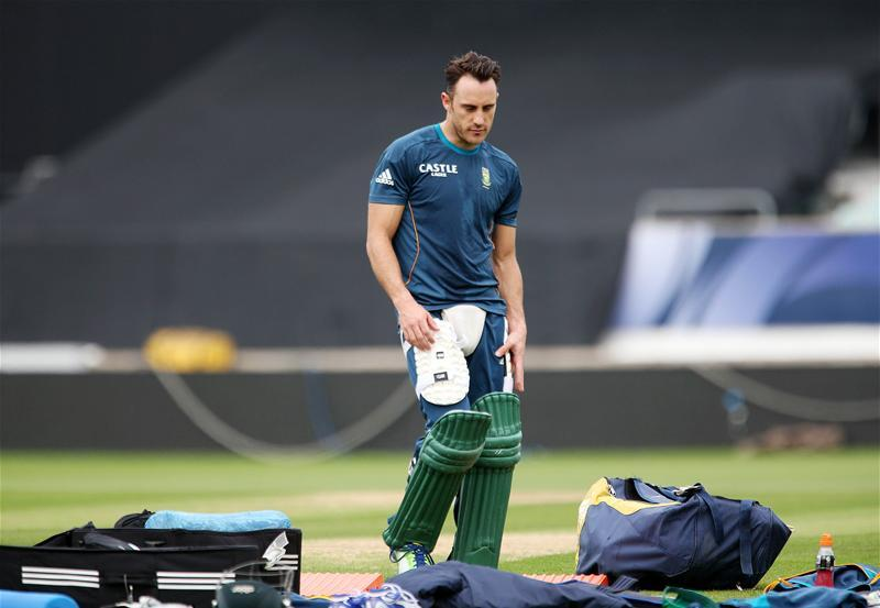 South Africa Without Du Plessis For Final Test