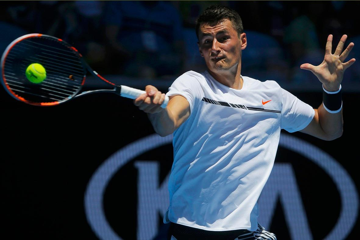 Tomic Slates Hewitt After Aussie Open Exit