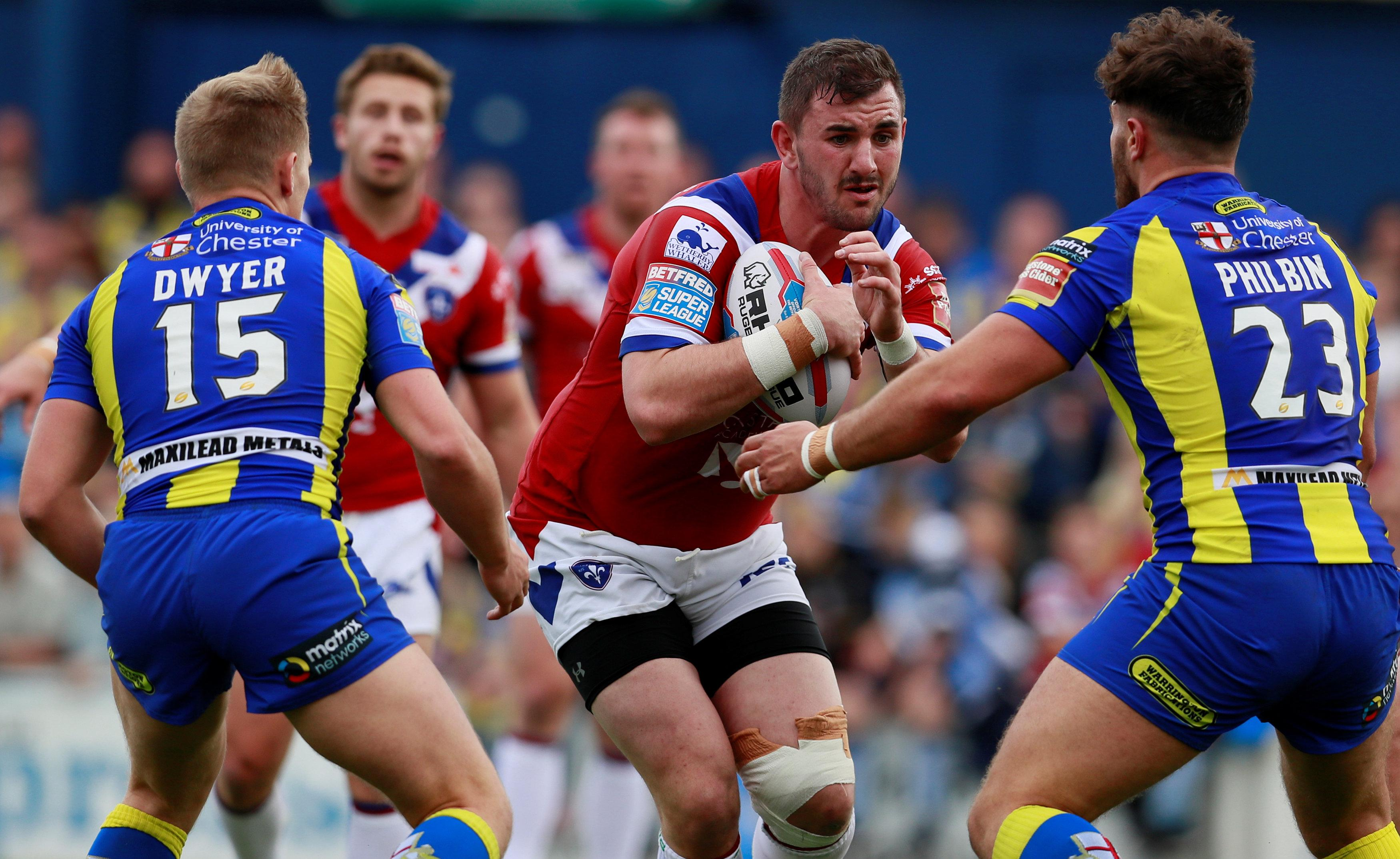 Walker Delighted By Salford Deal