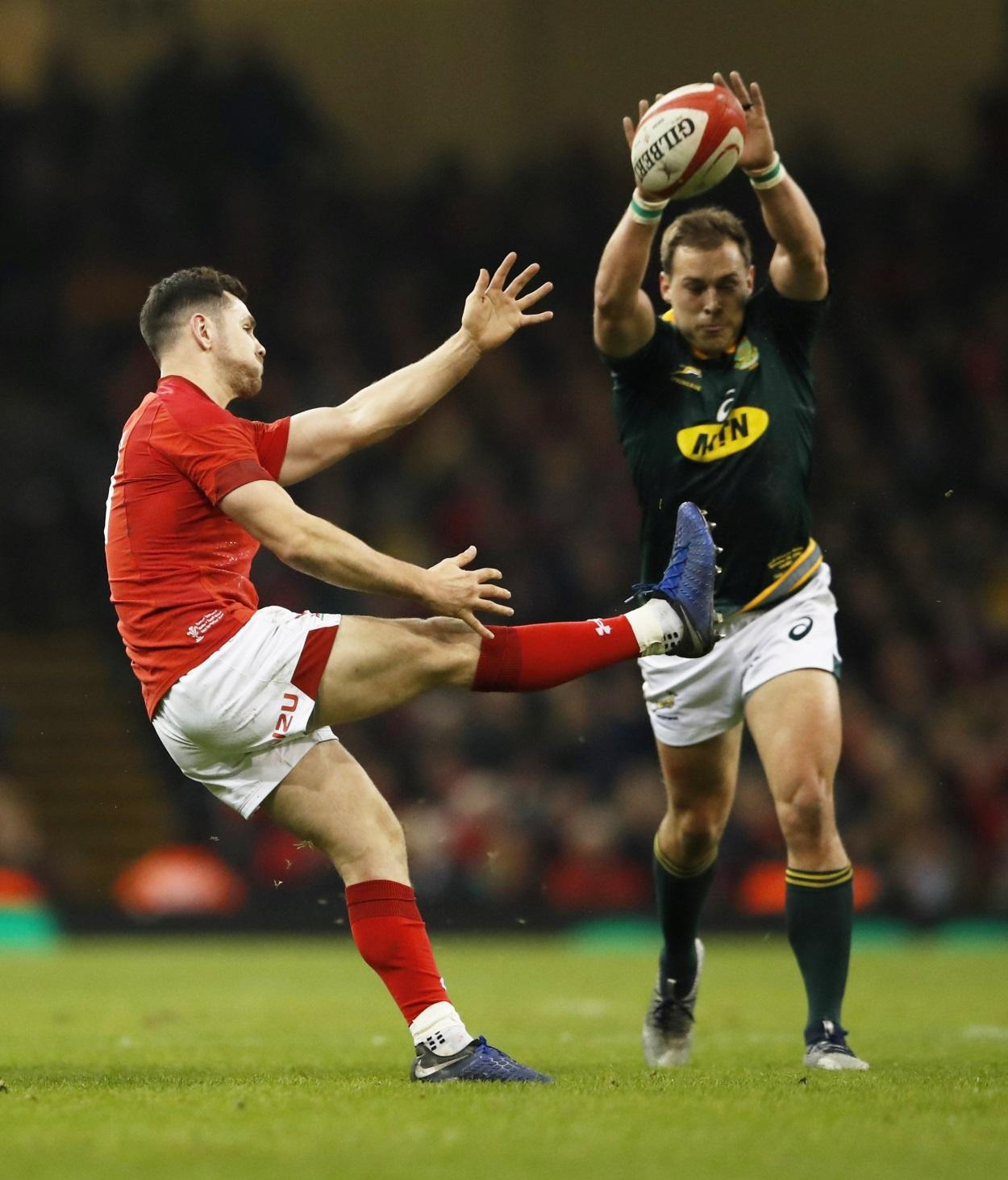 Williams Gets Scrum-Half Nod For Wales