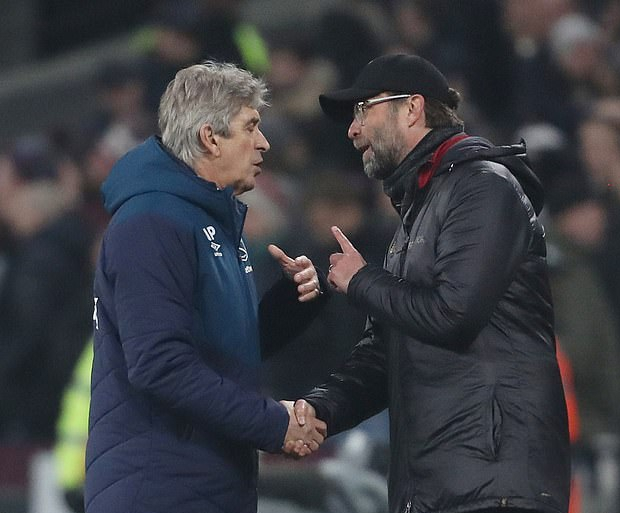 Pellegrini: Klopp Is Used To Winning With Offside Goals