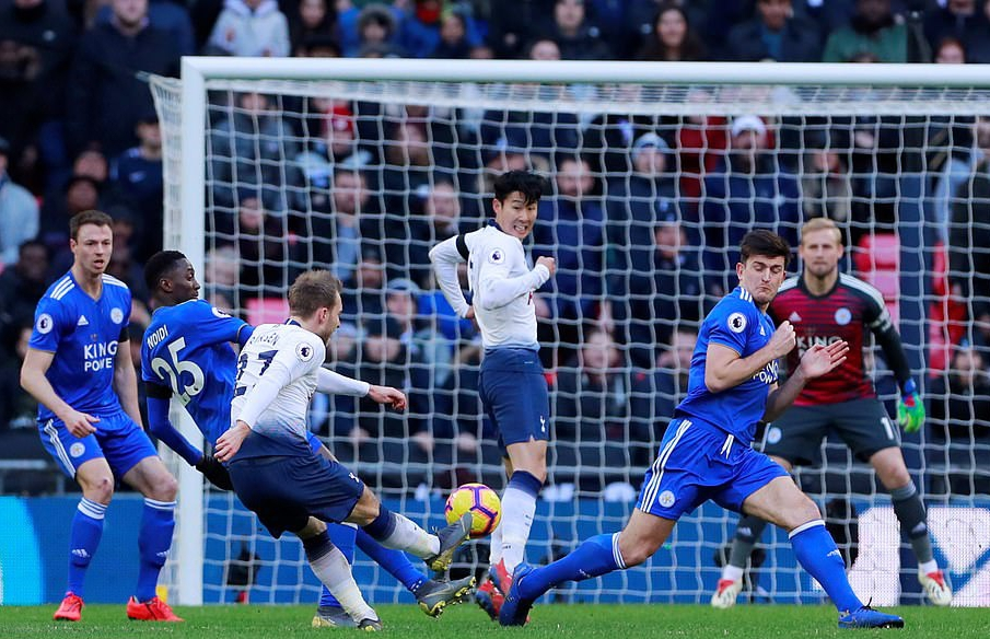 Ndidi Makes 25th EPL Start, Iheanacho  Subbed On In  Leicester 3-1 Defeat At Spurs