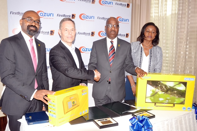 FirstBank Partners Azuri Technologies To Promote Sustainable Development In Nigeria