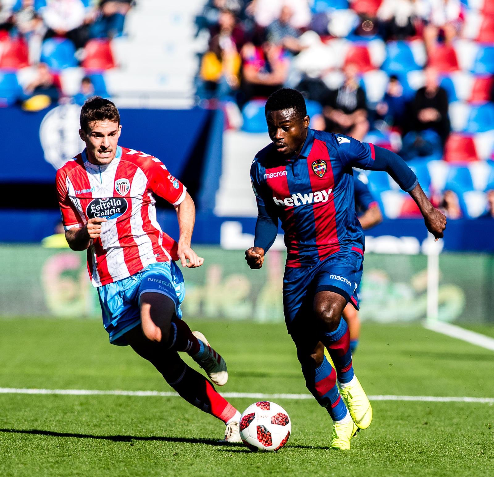 Simon Set To Make Second LaLiga Start For Levante