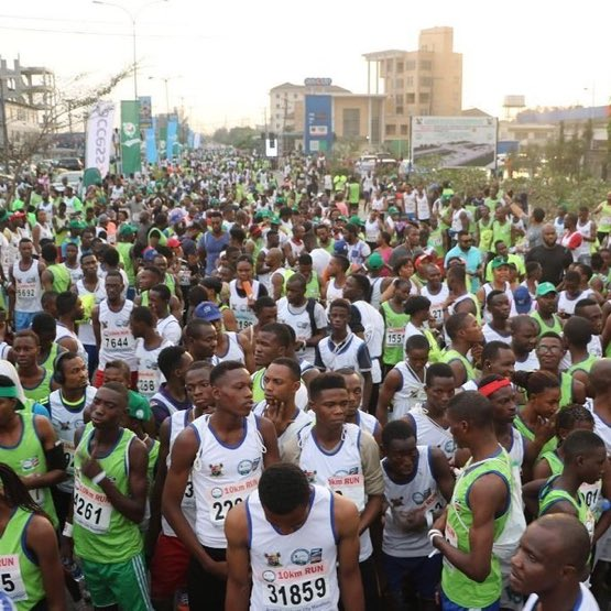 Odegbami: The Lagos City Marathon!