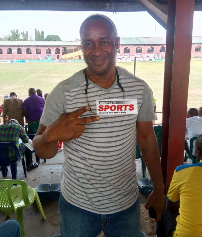 Ex-Eagles Captain Okechukwu Thumbs-Up NPFL After Watching Abia Warriors – Heartland Thriller