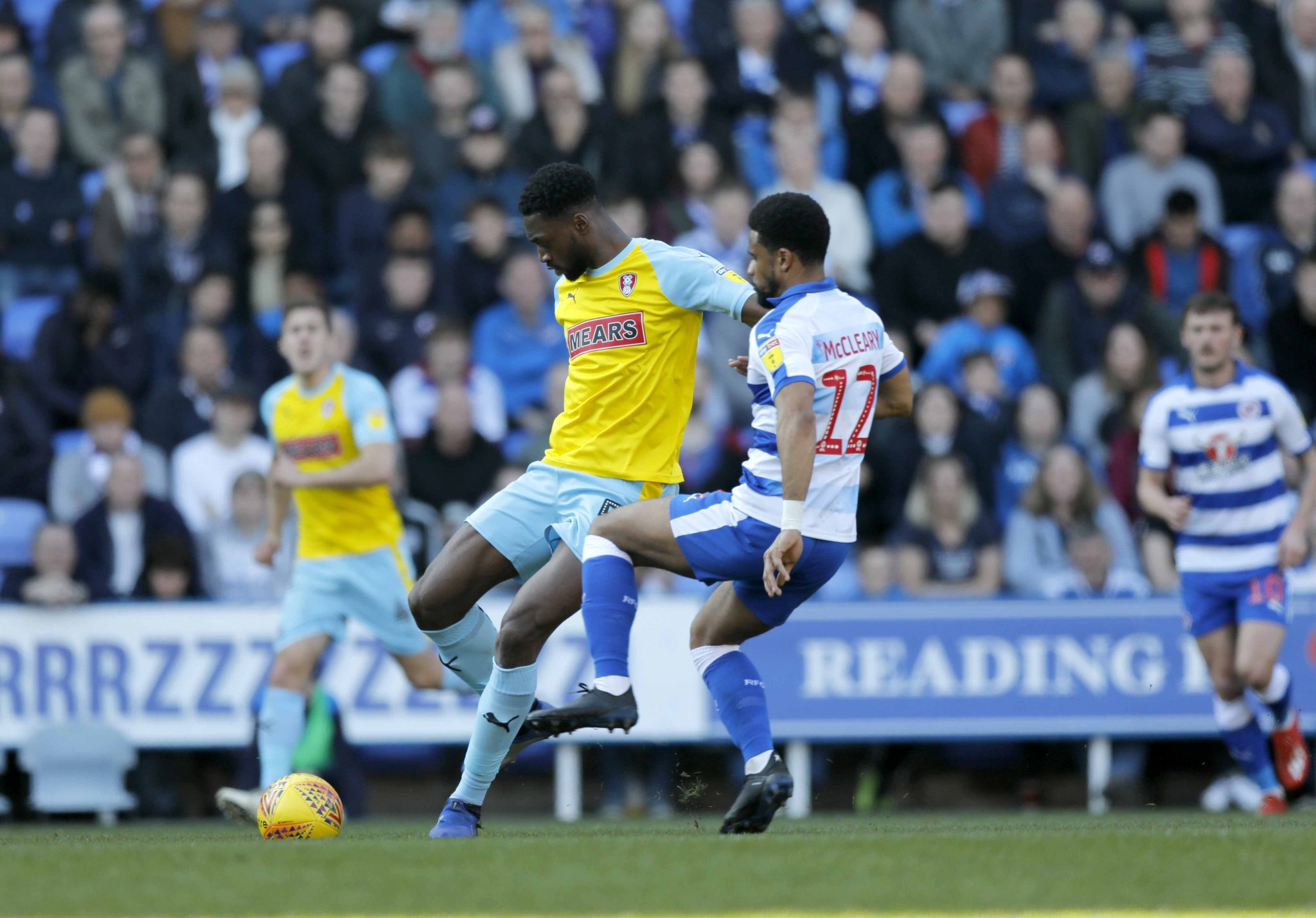 English Championship: Ajayi On Target For Rotherham, Mikel Stars in Boro Win Vs QPR