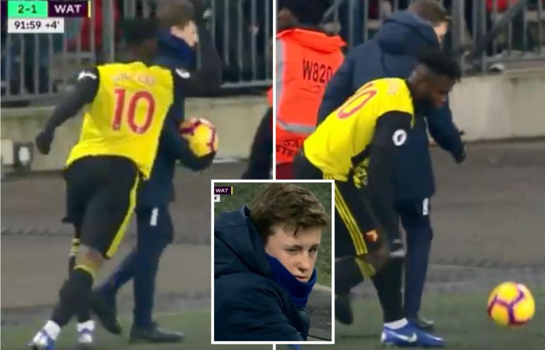 Gracia Warns Success To Behave After Clash With Spurs' Ball Boy