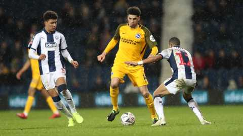 Balogun Still Out Over Injury As Brighton Host Huddersfield