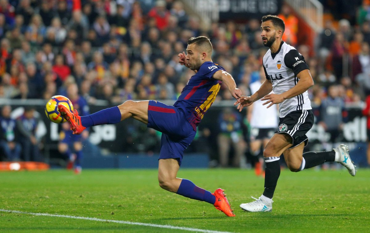 Alba Set For New Barca Deal