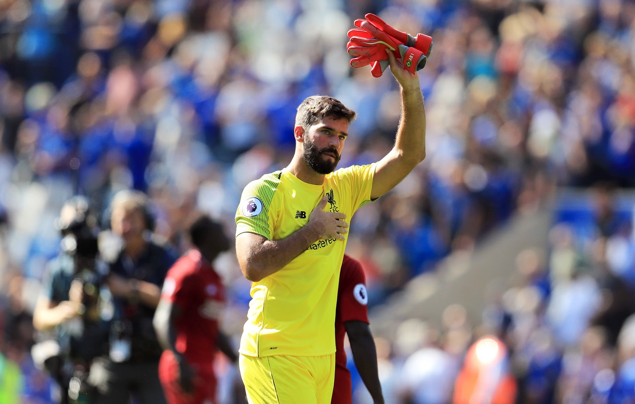 Alisson Sets Reds Title Target