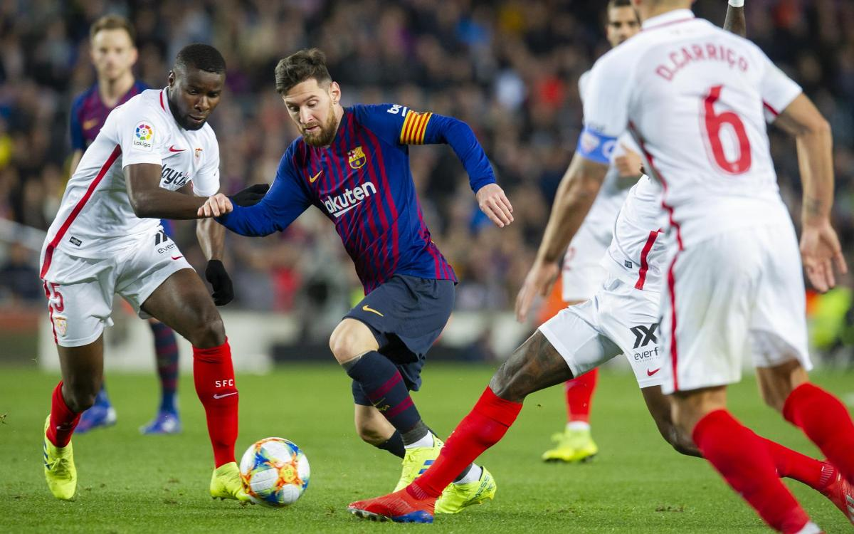 La Liga Round 25 Preview: Barcelona Face Tough Test Away To Sevilla