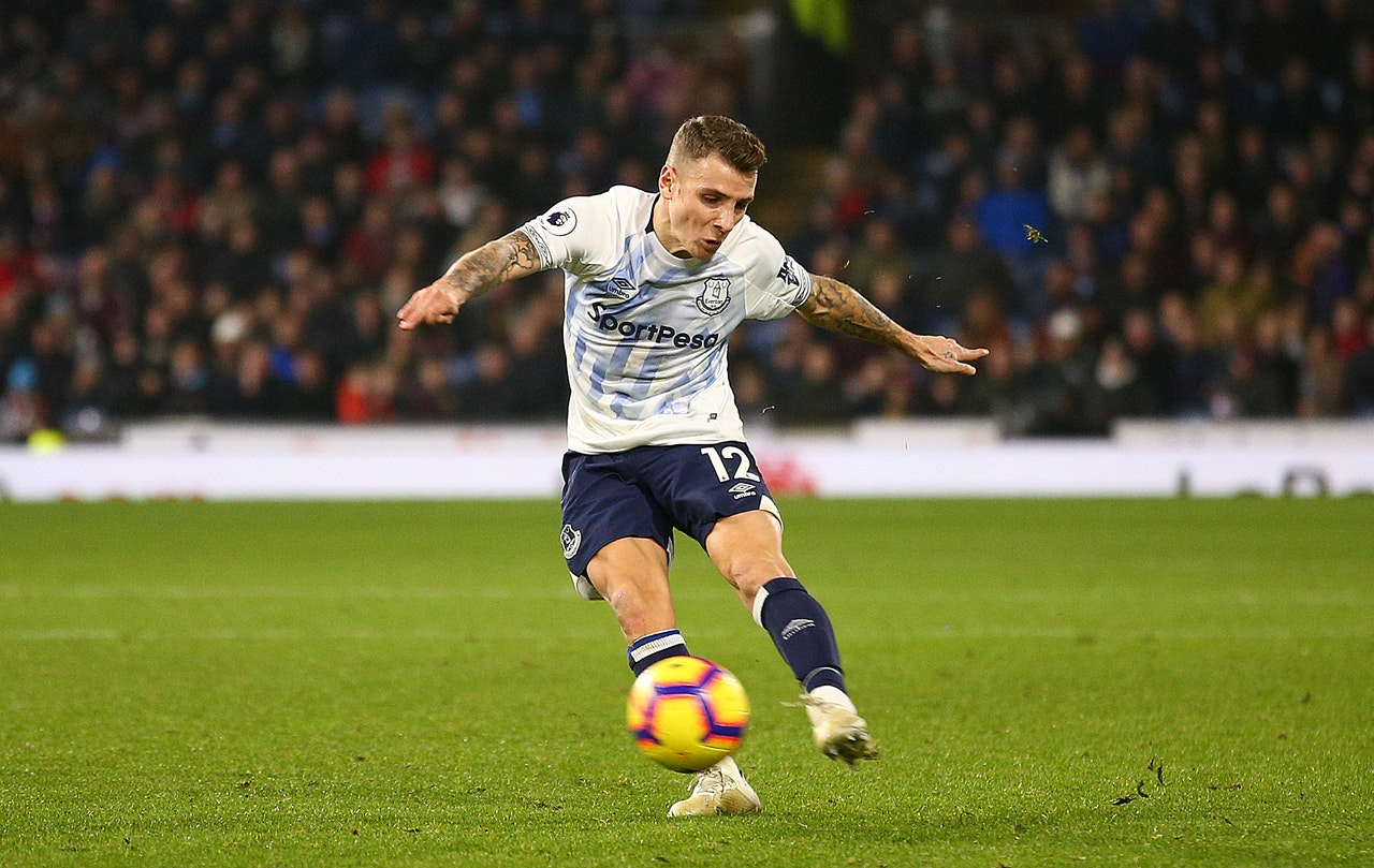 "Digne says Everton are ""working hard"""