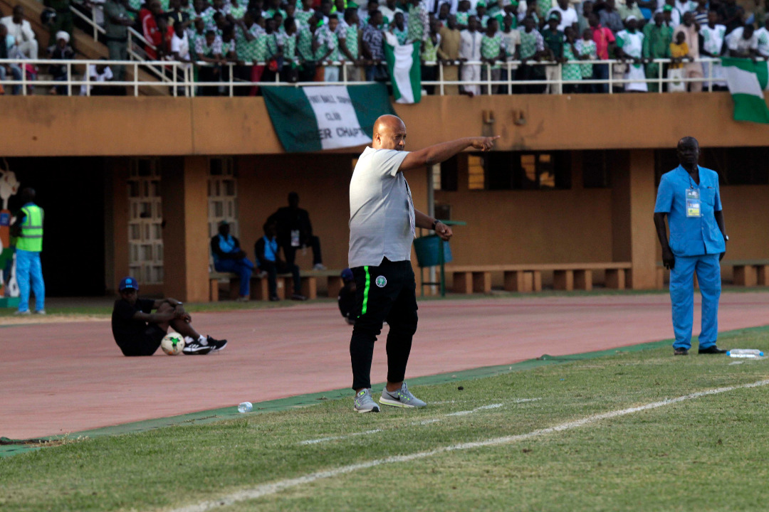 Aigbogun: My Players Fought But Lost  Difficult Match Vs Mali