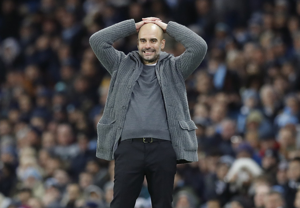 Guardiola Not Interested In Favourites Tag