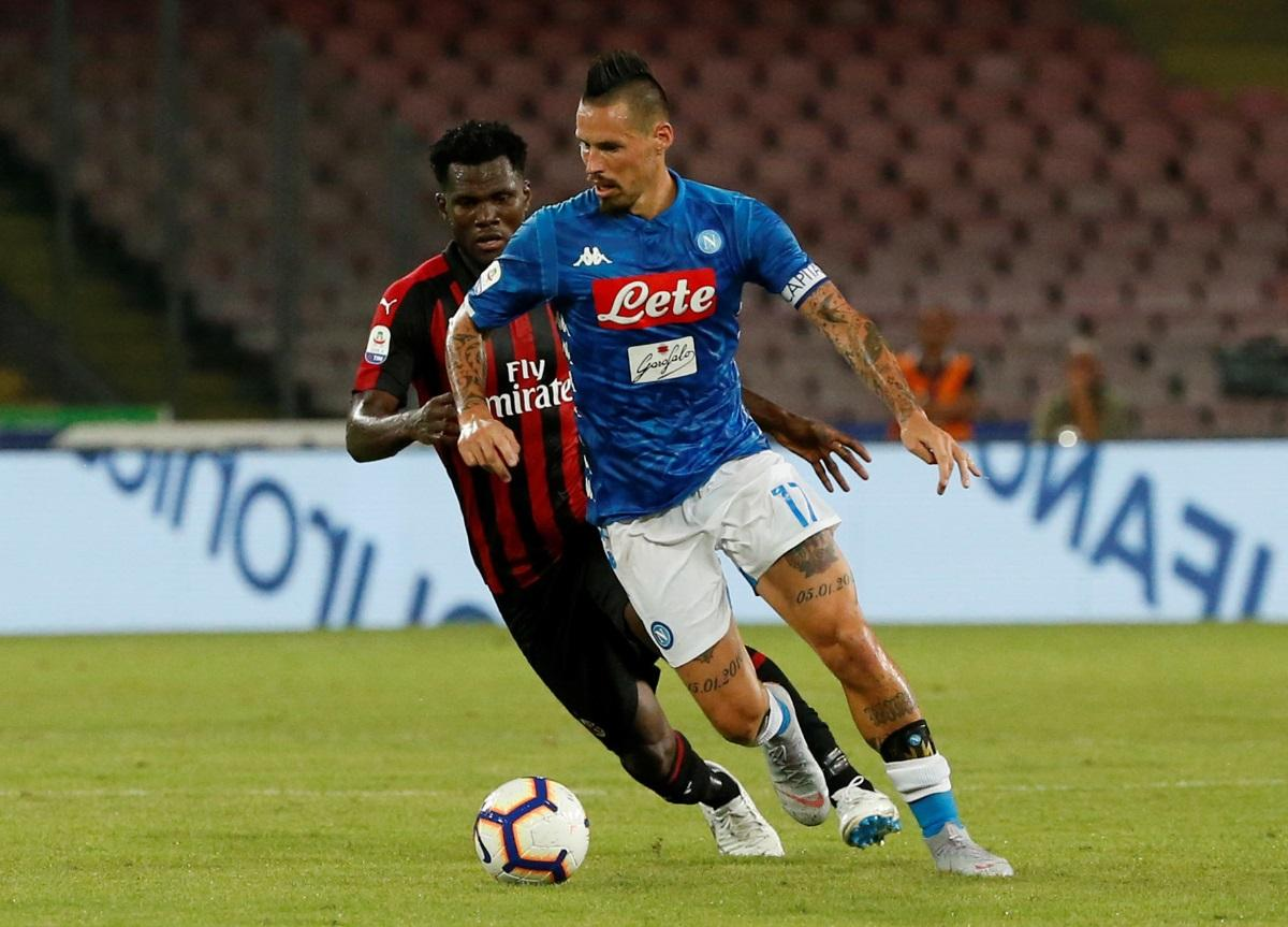 Hamsik undergoing medical in Madrid