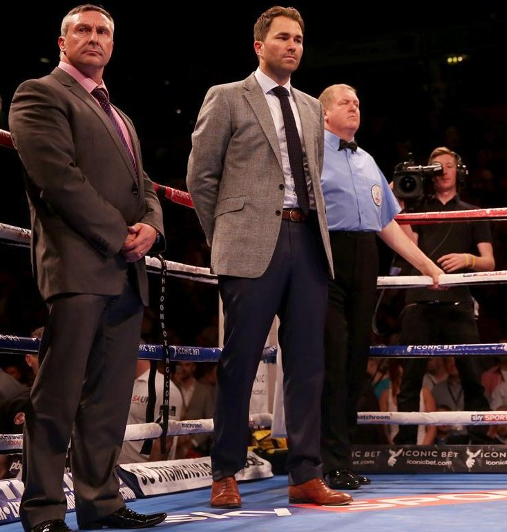 Hearn Issues AJ Fight Plea To Wilder