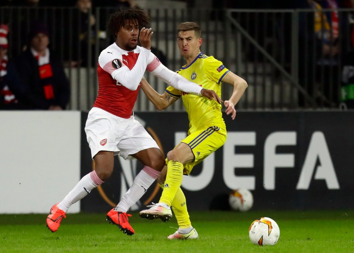 Europa League: Iwobi Stars In Arsenal Win; Moses, Odey Crash Out With Fenerbahce,  Zurich; Chukwueze Not Listed By Villarreal