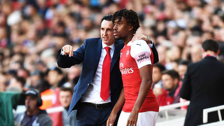 Iwobi Relishes Emery Impact On Personal Arsenal Career